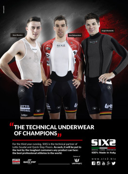 What professional cyclists wear