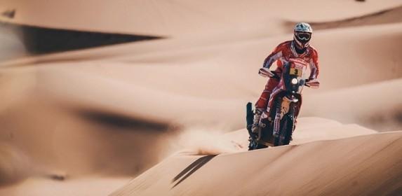 El último Dakar en moto de Gerard Farrés