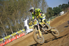 Nicola Salvini campione italiano MX 85cc. JUNIOR