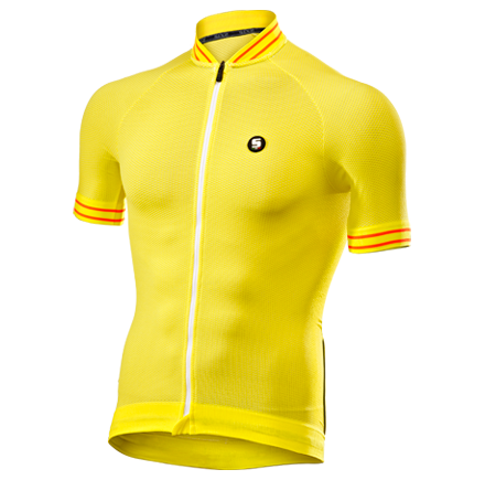 CLIMA JERSEY yellow white