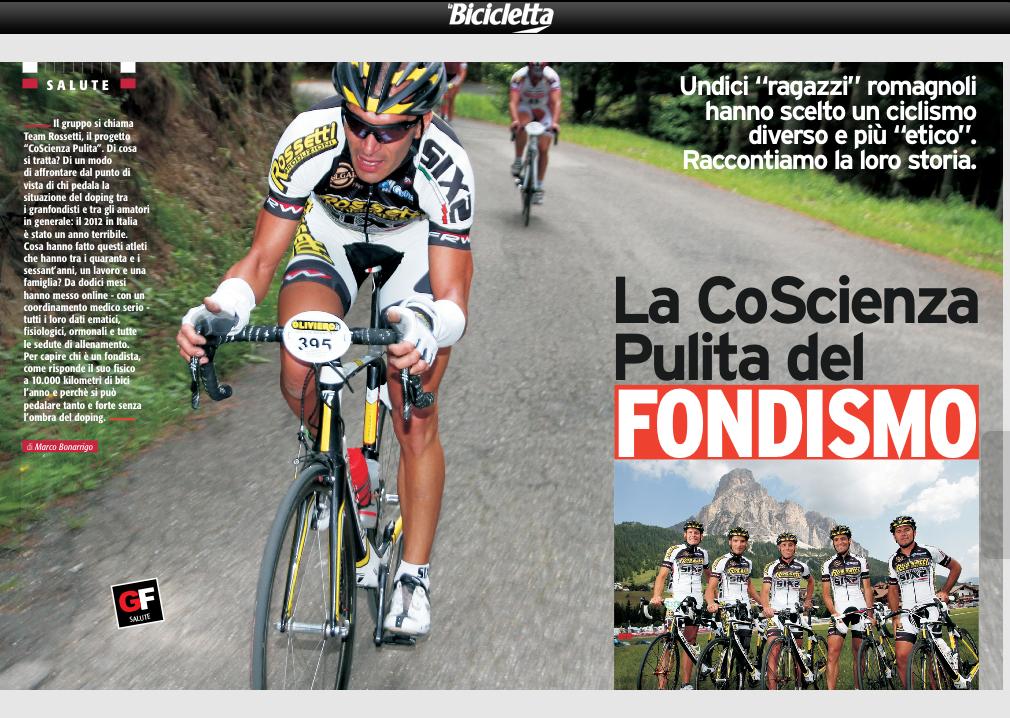 Team Rossetti su La Bicicletta