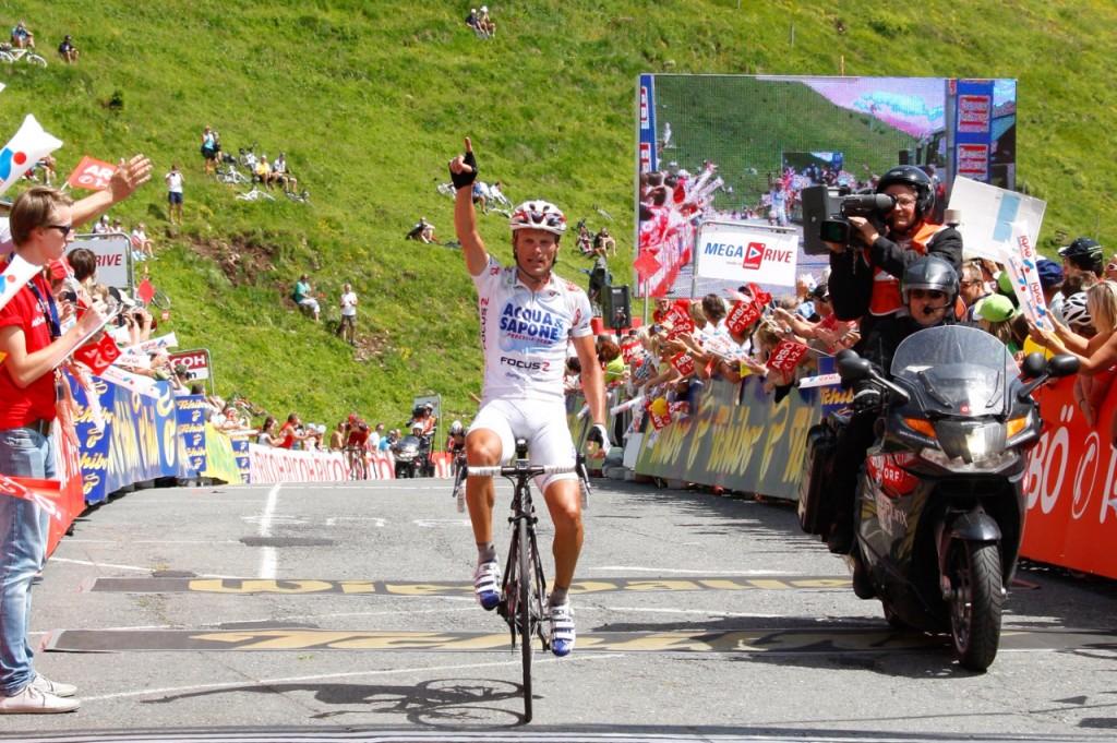 Di Luca, tappa e maglia al Giro dell'Austria. Il killer è tornato.