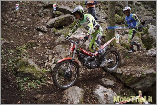 Prima prova del campionato europeo trial 2012