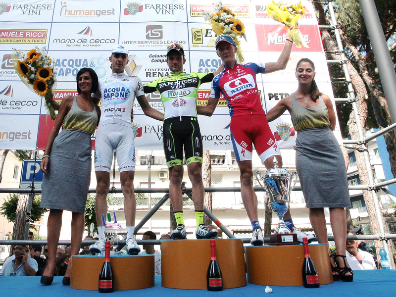 Taborre sul podio al trofeo Matteotti
