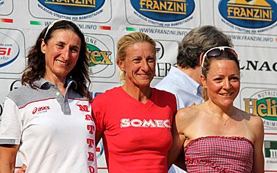 Monica Bandini esulta sul Benaco