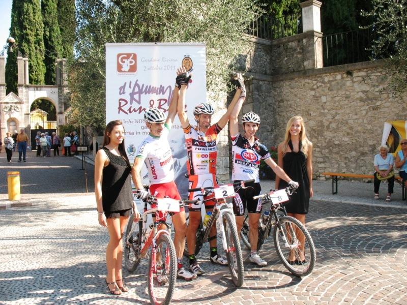 Andrea Giupponi: assolo vincente alla D'Annunzio Bike
