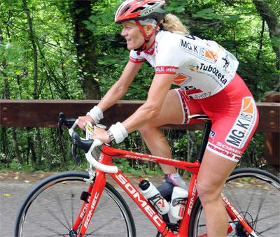 Florinda Neri sul podio alla GF del Capitano