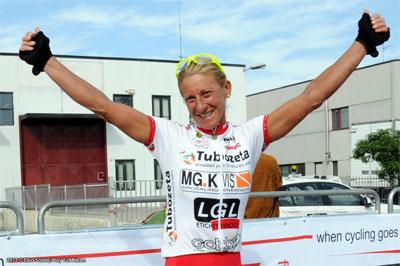 Monica Bandini trionfa nella Inkospor Cup