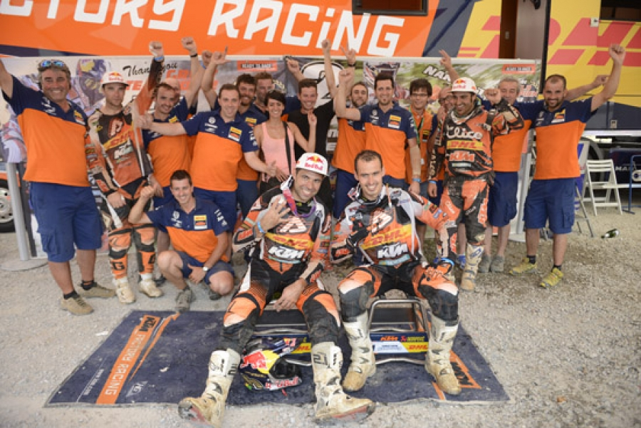 Meo e Nambotin campioni della E1 e E3 con Salvini primo in E2