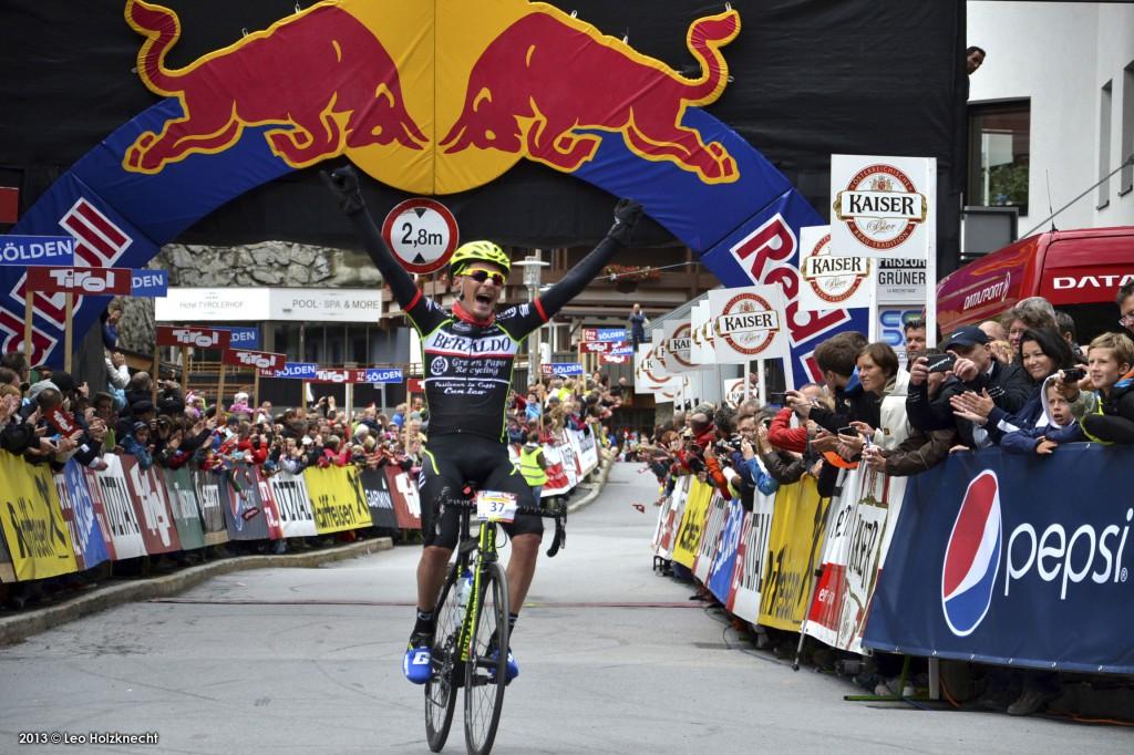 Cunico trionfa nell'Ötztaler Radmarathon