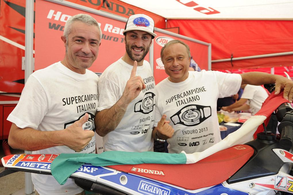 Strepitosi Alex Salvini e il Team HM-Honda Zanardo