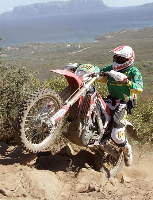 Giorgio Alberti Campione Regionale di Enduro