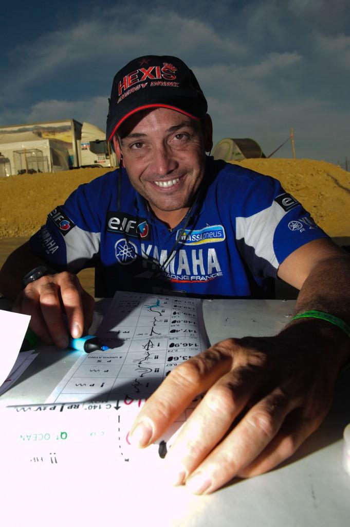 David Casteu e la Dakar 2014