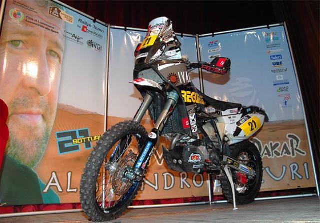 "Botturi: ""Ho voglia di vincere la Dakar"""
