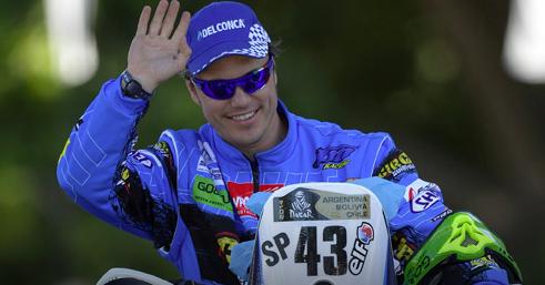 Anche Alex Zanotti lascia la Dakar