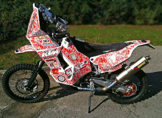 KTM 450Rally Missoni