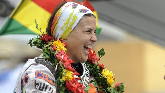 La Dakar di Laia Sanz