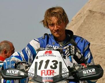 Francesco Catanese bruciato dalla Dakar