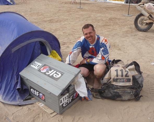 Per Yannick Guyomarc'h la Dakar è in solitario