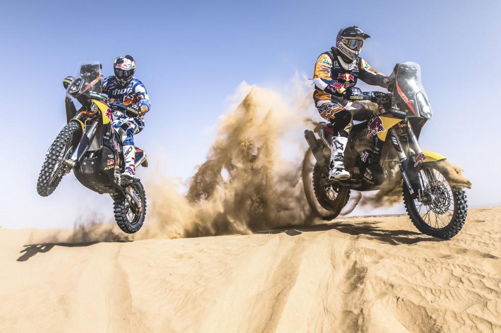 Dakar i nostri riders sono rimasti in tre