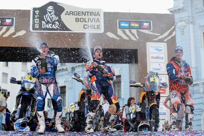 Dakar 2014 Paolo e Luca, i superstiti