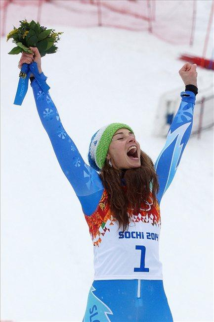 La slovena Tina Maze è due volte Oro a Sochi