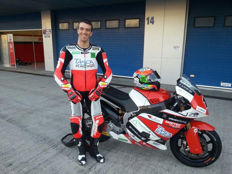 Alex de Angelis pronto per il Qatar
