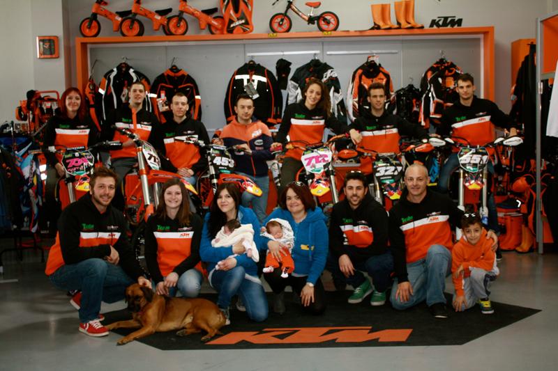 Il Team Mad Max e i suoi riders