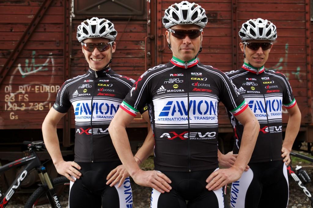 Mirko Celestino, Cristian Comelli e Luca Ronchi per Axevo