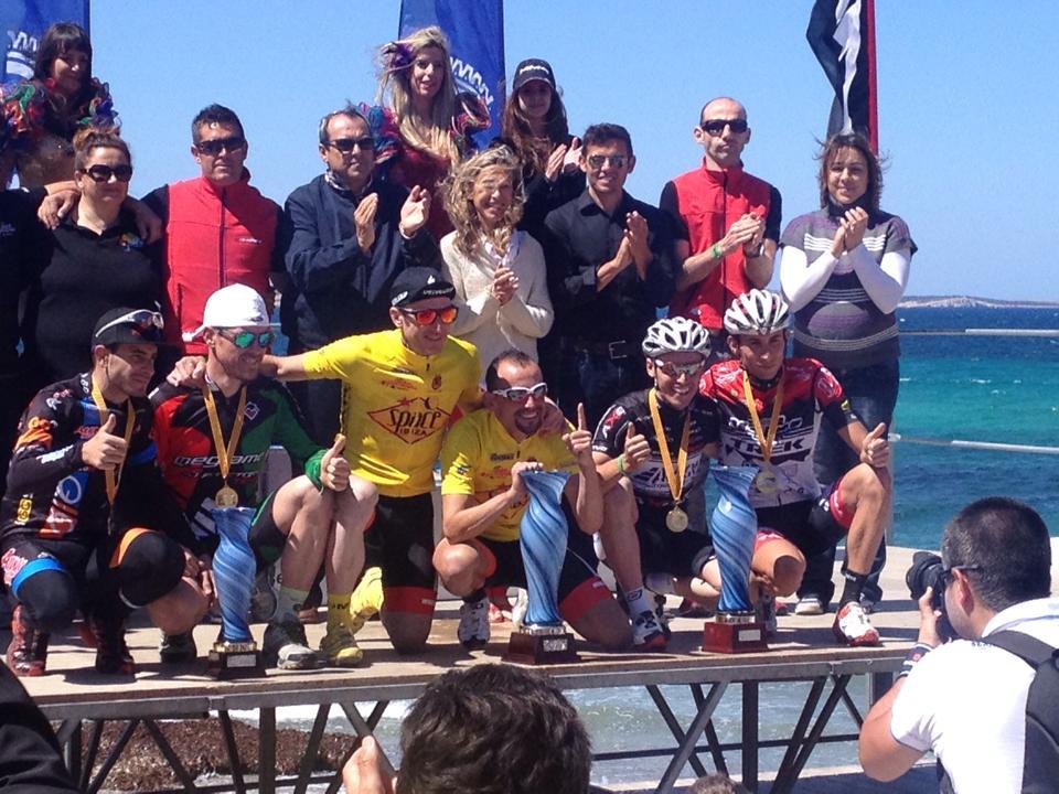 Ronchi e Ferraro  sul podio a Ibiza
