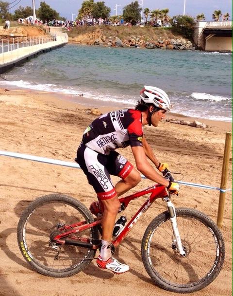 Gutierrez in azione alla Roc d'Azur