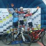 Il podio della 3T Bike 2014