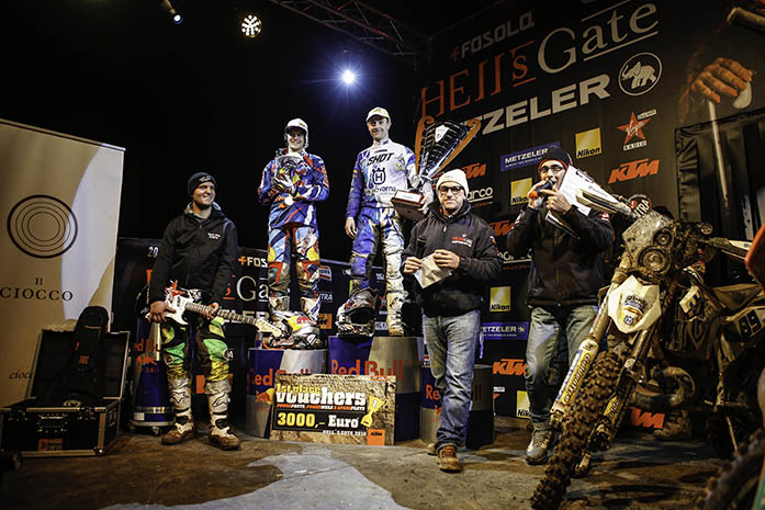 Hell's Gate Metzeler 2015. Extreme Racing & TV Show!
