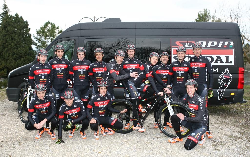 SCAPIN-SOUDAL Pro Racing Team, orgoglio italiano