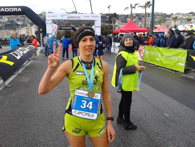 É di Maurizia Cunico la maratona di Napoli