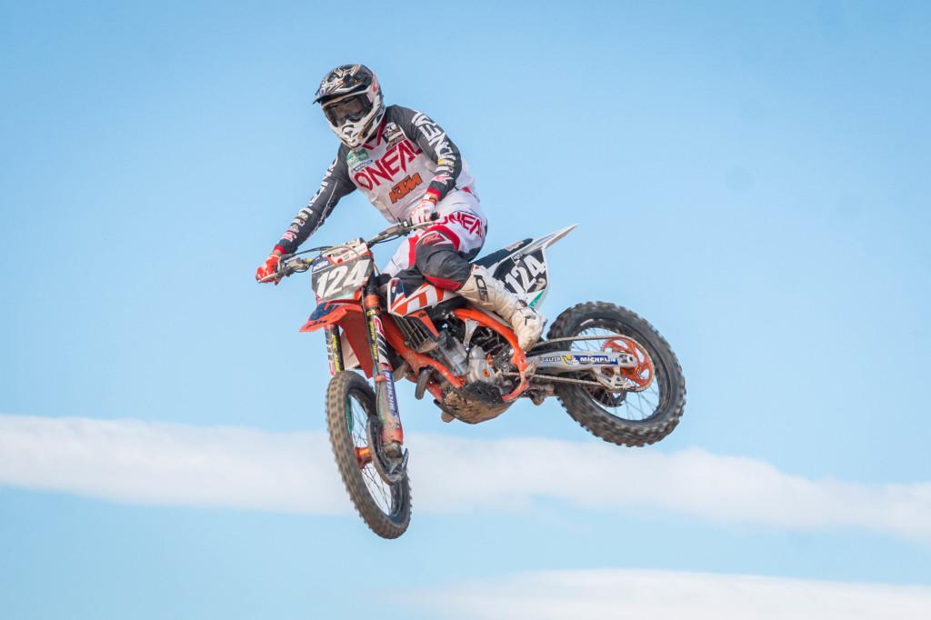 Simeó Ubach comienza con dos podios su defensa del Campeonato de España de MX2