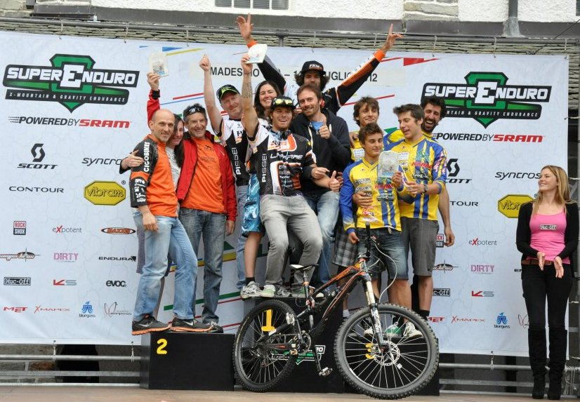 FRM FACTORY RACING TEAM domina la Superenduro PRO di Madesimo