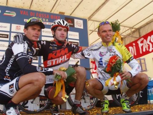 Mirko Celestino terzo alla Polartec Val di Fassa Bike