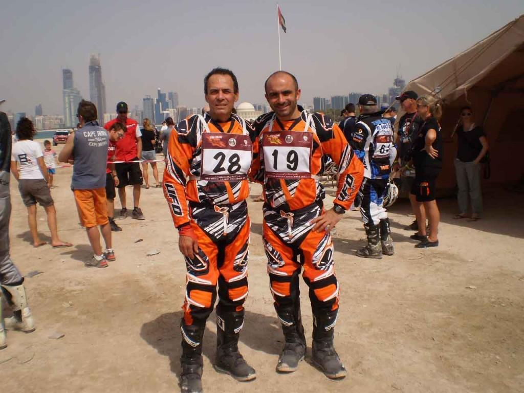 Giovanni Ronzoni con SIXS al Abu Dhabi Desert Challenge e Rally di Sardegna