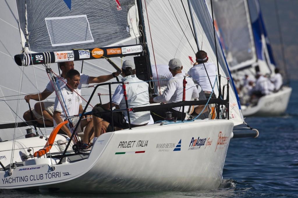 Fantastica conclude le Audi Sailing Series 2012 al secondo posto