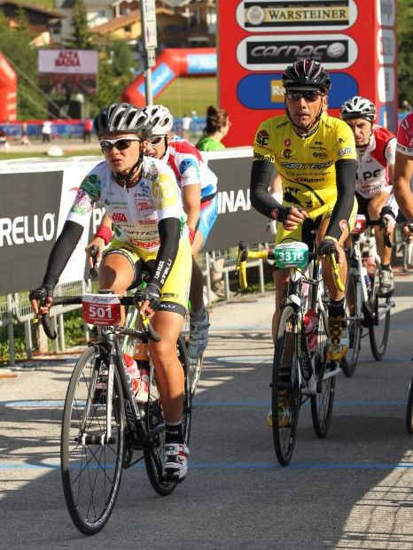 Barbara Lancioni seconda alla Maratona dles Dolomites
