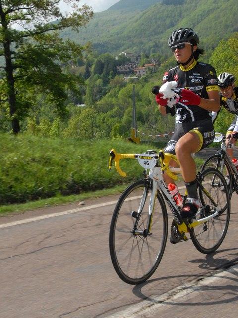 Barbara Lancioni vince sotto il diluvio di Urbino