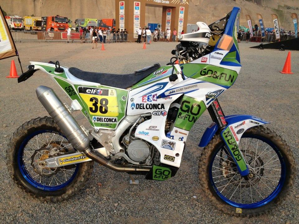 Alex Zanotti in rimonta nella terza tappa della Dakar