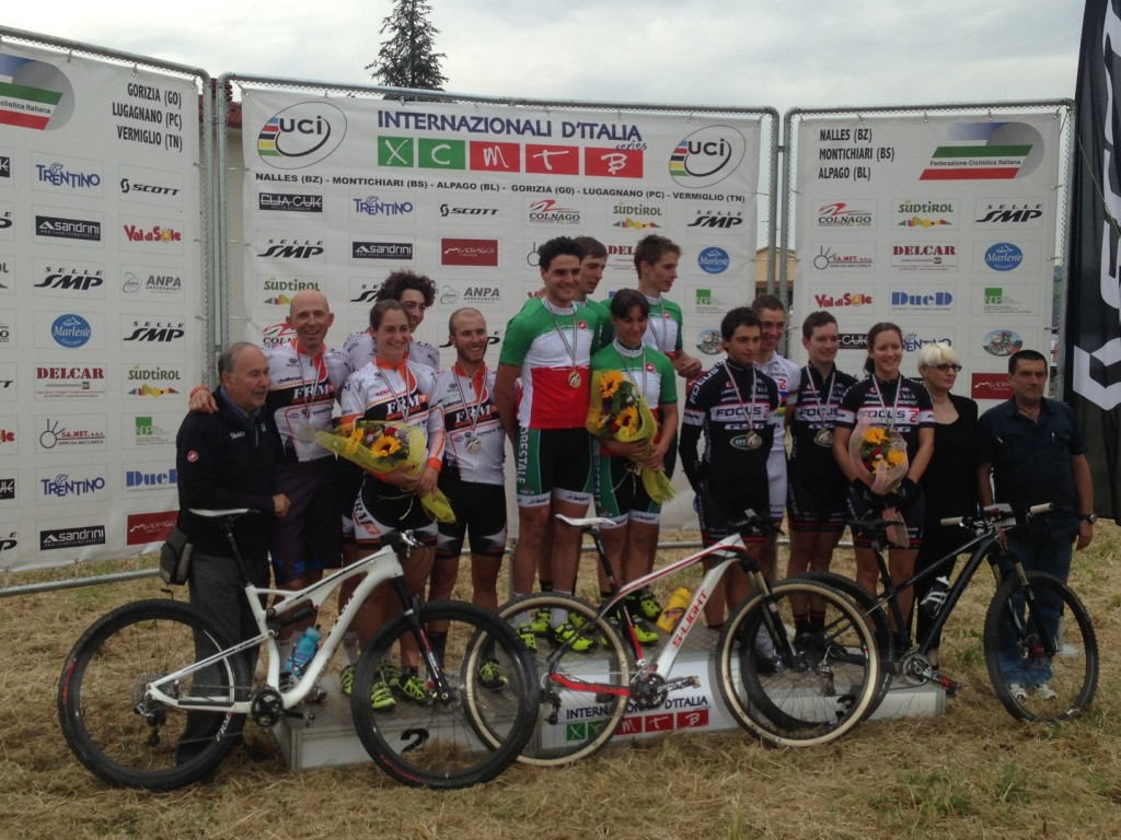 FRM Factory Racing Team secondo classificato ai campionati italiani Team Relay