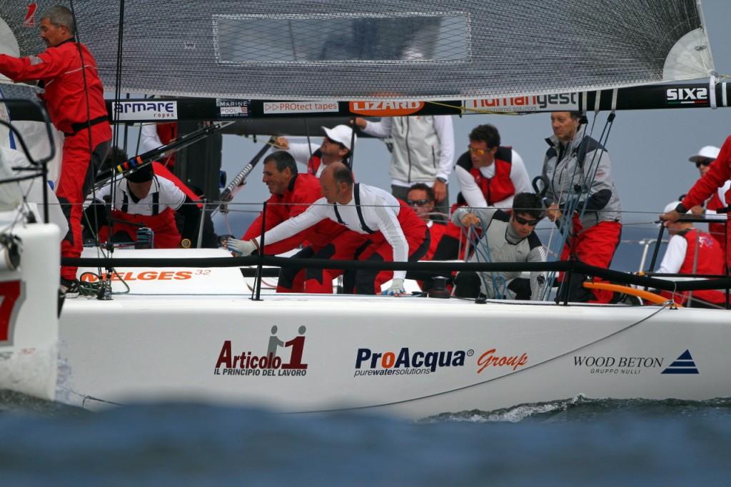 Melges 32 Fantastica: un Campionato del Mondo 2012