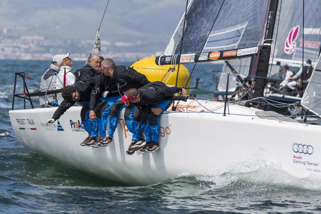Il Fantastica Sailing Team a Porto Ercole
