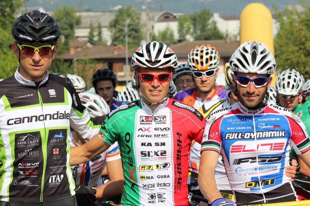 Passerella tricolore per Mirko Celestino alla 13ª Conca d'Oro Bike