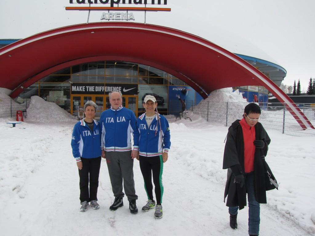 24 ore indoor Finlandia Endurance - Antonio e Adele