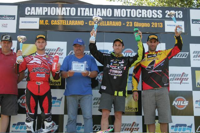 23 Giugno Castellarano, quinta prova del Campionato Italiano MX. Trasferta da incorniciare per Lorenzo Pedri.