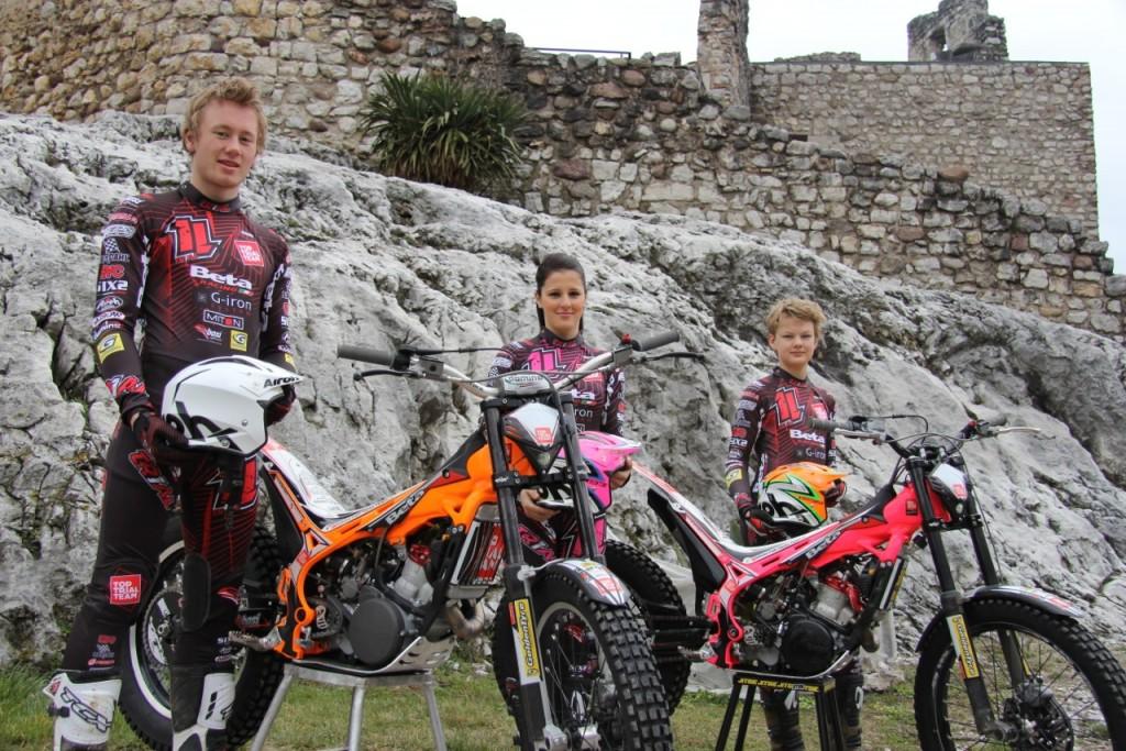 Presentazione nuova Tuta Top Trial Team 1